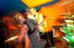 Band blurred
